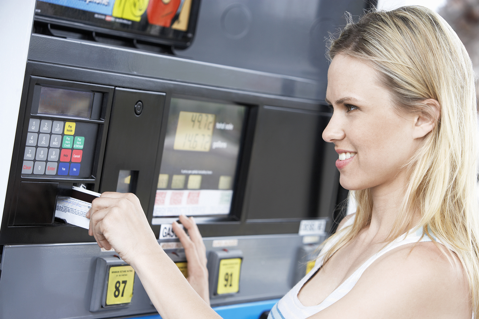 PAY-AT-THE-PUMP PAYMENT PROCESSING